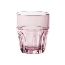 Verre à eau rose 26cl