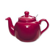 Théière en céramique avec filtre inox 1,5L rose