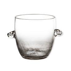 Seau à glace en verre soufflé bouche 1L