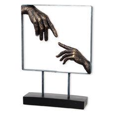 Statuette en résine 27x38cm