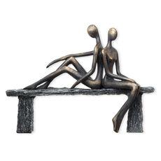 Statuette en résine 24x33cm