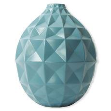 Vase en céramique turquoise 40cm
