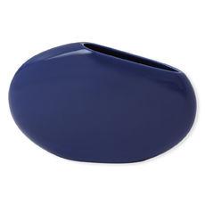 Vase bleu en céramique 29cm