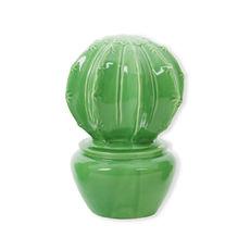 Cactus vert décoratif 17cm