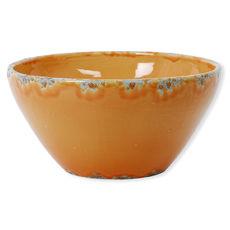 Saladier orange clair en céramique 30cm