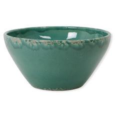 Saladier vert foncé en céramique 30cm