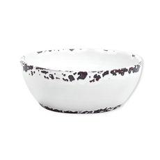 Saladier blanc en céramique 25cm