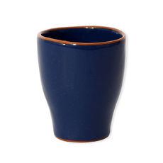 Tasse à thé marine en céramique 30cl