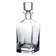 Carafe à whisky en verre soufflé bouche 1L