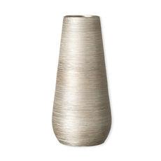 Vase en céramique doré 35cm