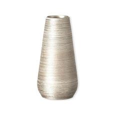 Vase en céramique doré 23cm